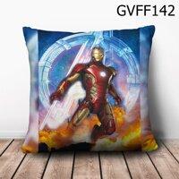 Gối vuông Iron Man trong biển lửa - GVFF142