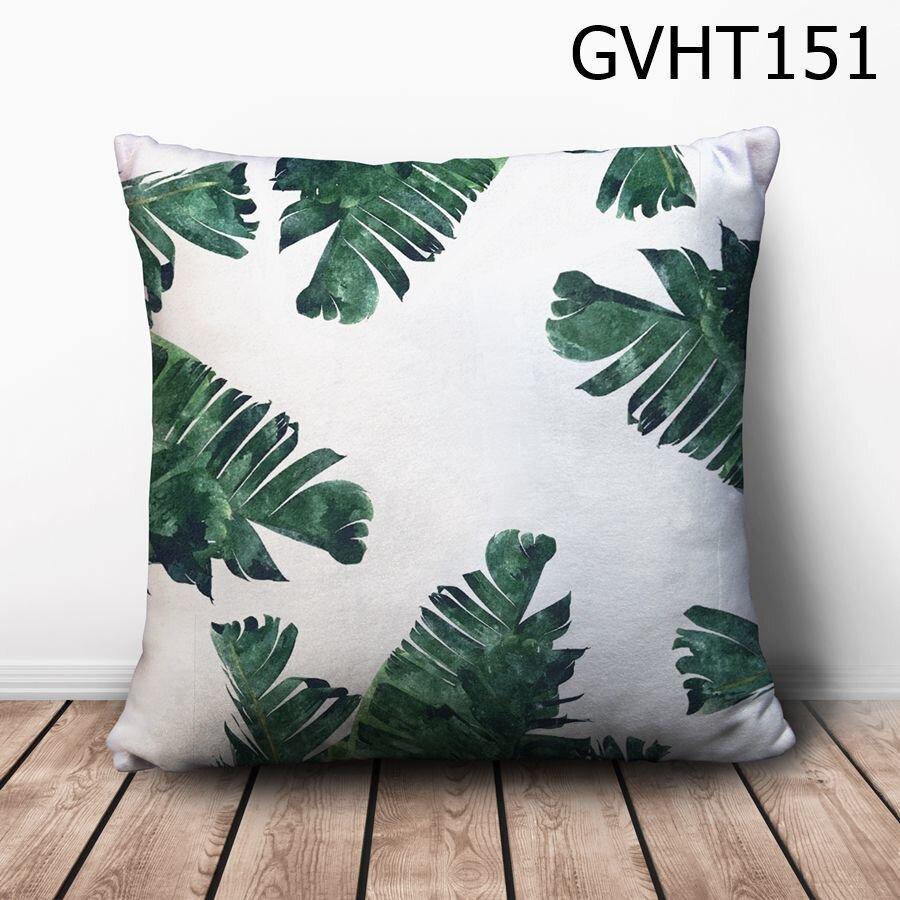 Gối vuông lá chuối - GVHT151
