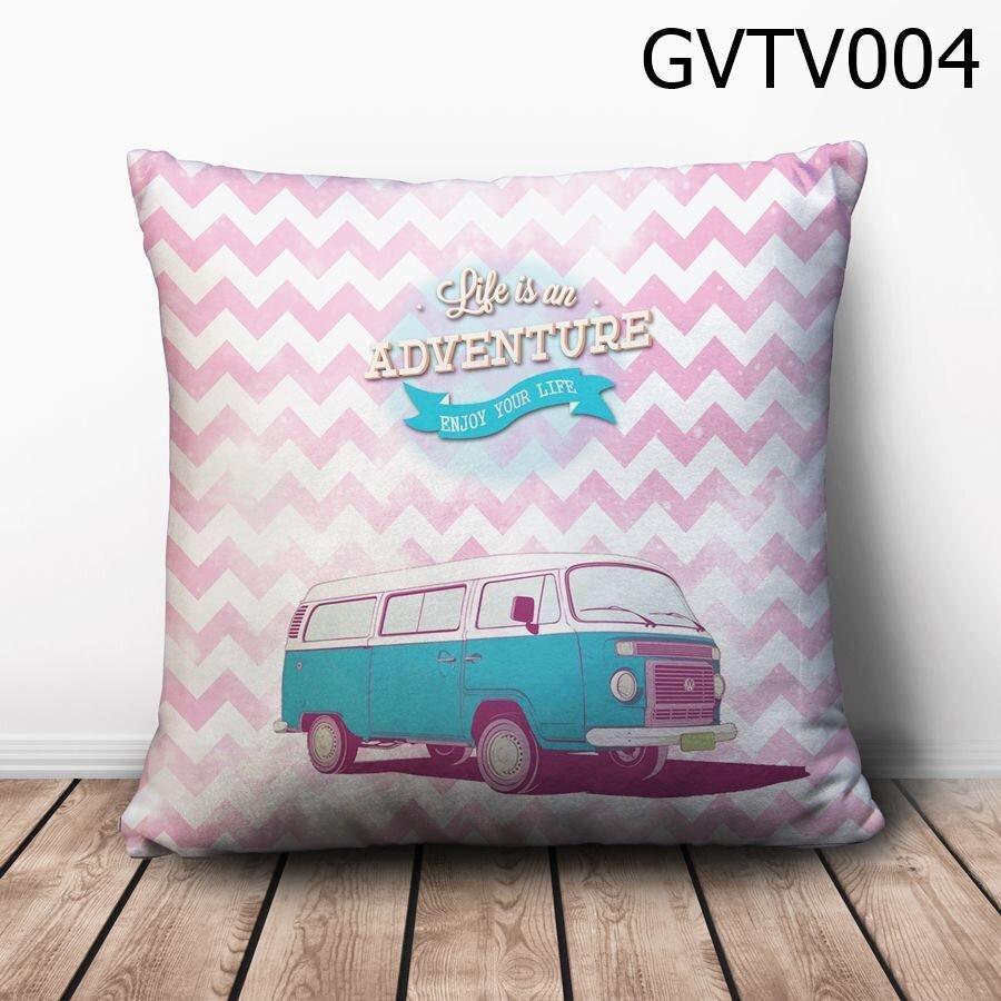 Gối vuông Life is an Adventure - GVTV004