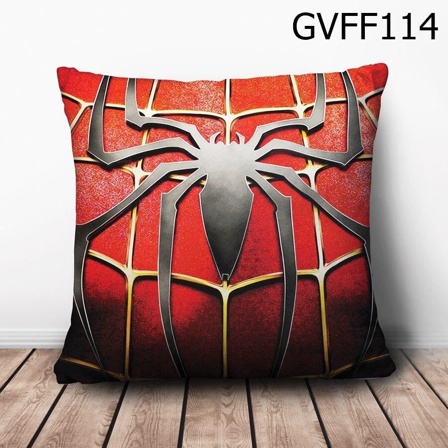 Gối vuông Logo Spiderman - GVFF114