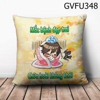 Gối vuong mắc bệnh đẹp trai - GVFU348
