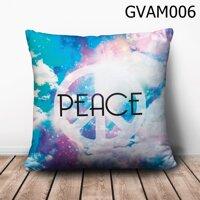 Gối vuông Peace - GVAM006