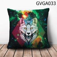 Gối vuông Sói galaxy - GVGA033