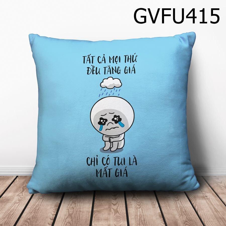Gối vuông tất cả mọi thứ đều tăng giá - GVFU415