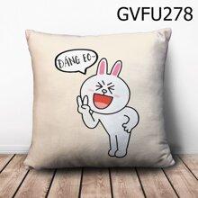 Gối vuông thỏ đáng eo~ - GVFU278