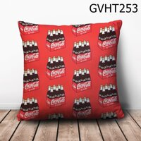 Gối vuông thùng nước coca - GVHT253