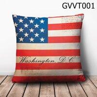 Gối vuông Washington D.C - GVVT001