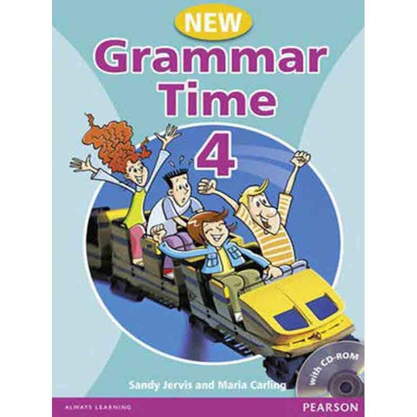 Grammar Time 4 Student Book with Multi-ROM