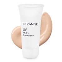 Kem nền dạng sữa Cezanne UV Milky Foundation R #10 Bright Ochre