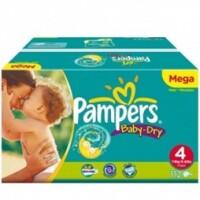 Tã dán Pampers Baby-Dry số 4 - 30miếng