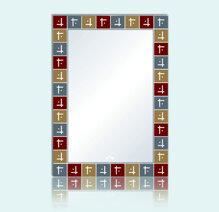 Gương bỉ TAV 675B (50x70)