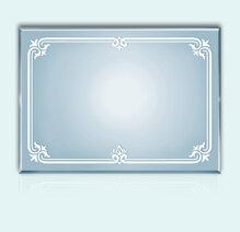 Gương bỉ TAV 804A (45x60)