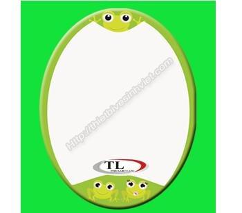 Gương ghép màu bầu dục Tùng Lâm TL-1562 (50x70cm)
