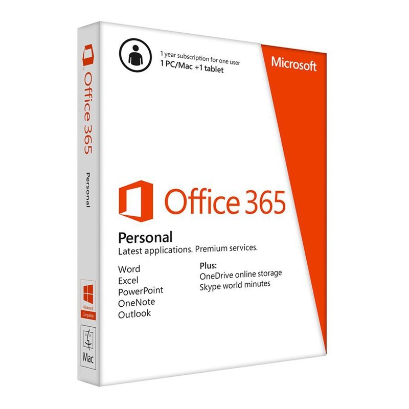 Phần mềm Microsoft Office 365 Personal English APAC (QQ2-00570)