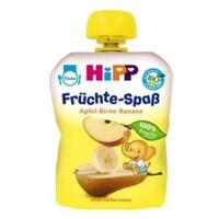 Dinh dưỡng trái cây nghiền HiPP táo, lê, chuối 90g
