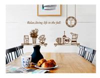 Decal trang trí dán tường dụng cụ bếp 4