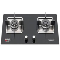 Bếp gas âm Napoliz NA-E250 - Công suất: 3,8 x 4,3KW , Kích thước mặt kính: 750 x 430mm