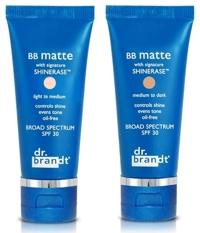 Kem dưỡng da trang điểm chống nắng Dr. Brandt BB matte with SHINERASE