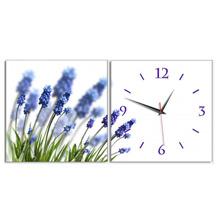 Đồng hồ tranh Hoa lavender Vicdecor DHT0277