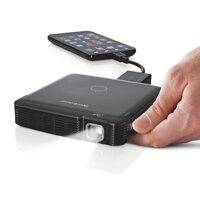 Brookstone Pocket Projector Mobile 100 Lumens - Máy chiếu mini