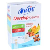 Ngũ cốc dinh dưỡng Celia Develop có sữa hương vị 5 loại quả