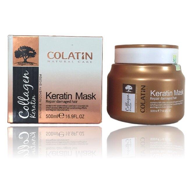 Hấp dầu collagen colatin phục hồi chuyên sâu tái tạo cấu trúc tóc double treatment ý 500ml