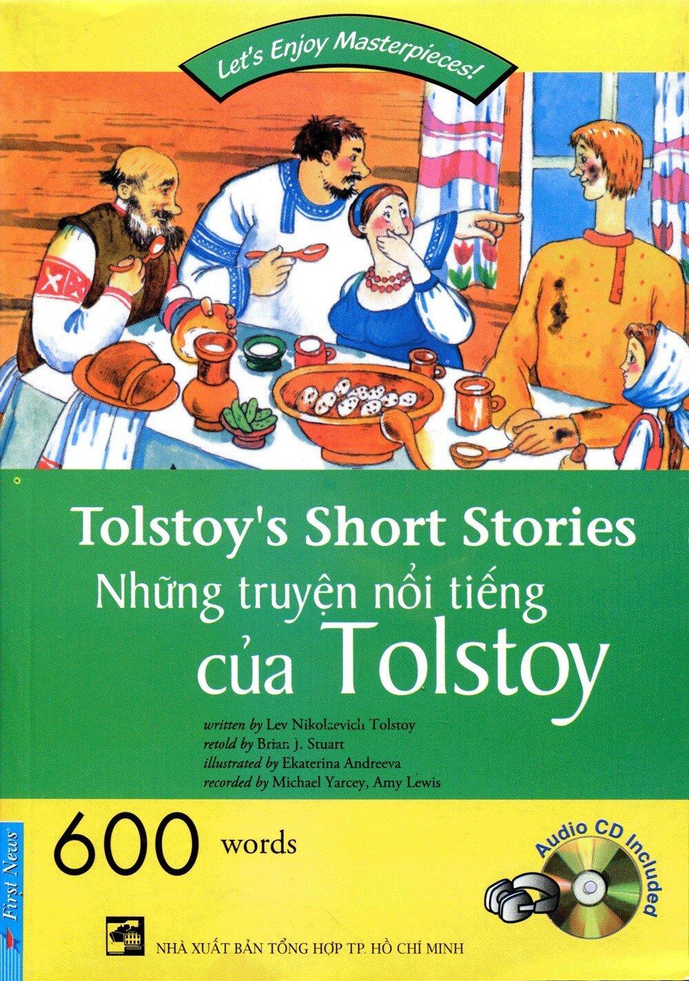 Happy Reader-Tolstoy's Short Stories