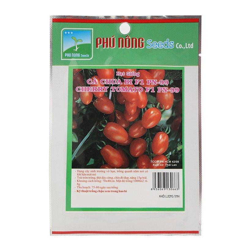 Hạt giống cà chua bi F1 Phú Nông PN-99 0,1g
