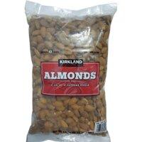 Hạt hạnh nhân sấy khô không muối Kirkland Signature Almonds - 1.36 kg