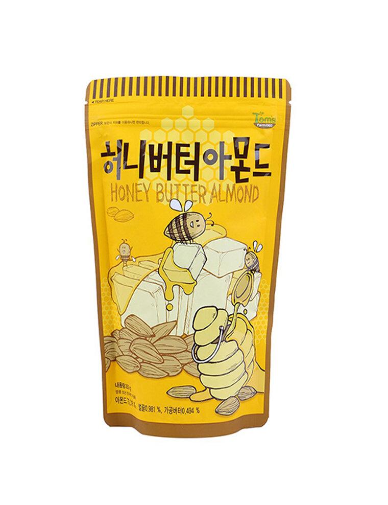 Hạt hạnh nhân tẩm mật ong chiên bơ 250g - Hàn Quốc
