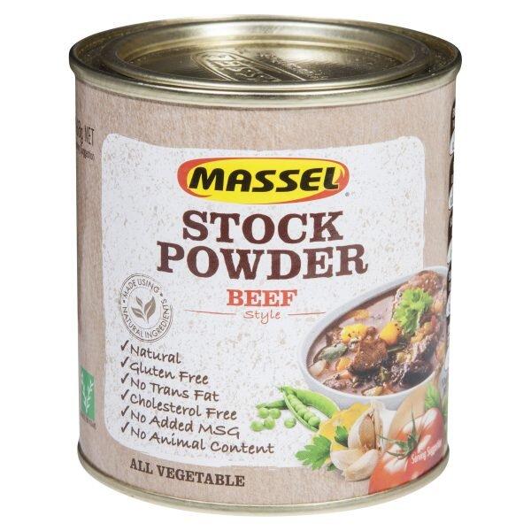 Hạt nêm hương vị bò Massel Stock Powder Beef - 168g