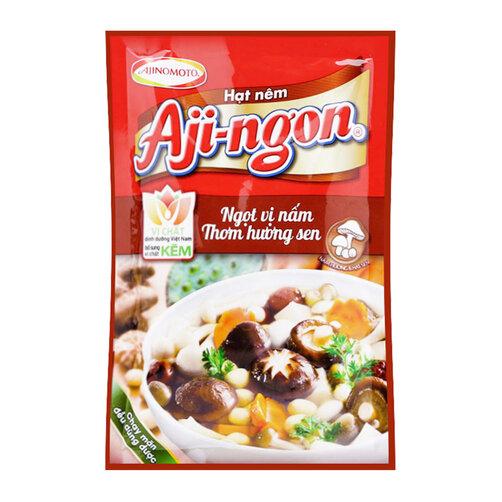 Hạt nêm nấm hương và hạt sen Aji-ngon gói 60g