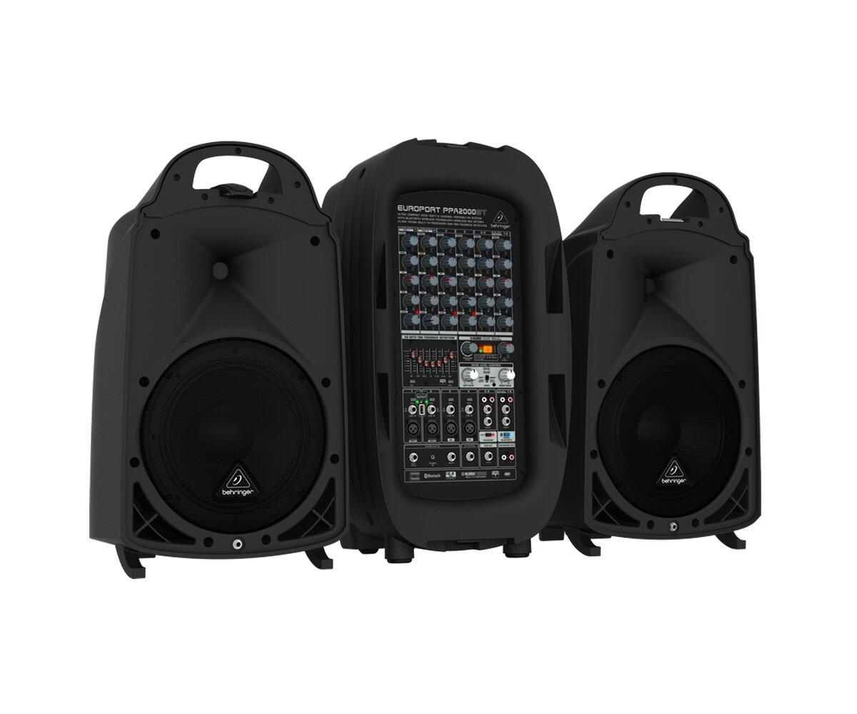 Hệ thống âm thanh cầm tay Behringer Europort PPA2000BT