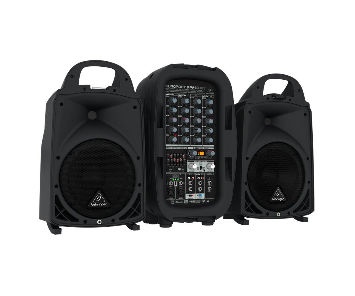 Hệ thống âm thanh cầm tay Behringer Europort PPA500BT