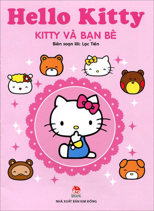 Hello Kitty dán hình - Kitty và bạn bè