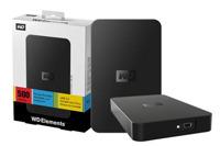 Ổ cứng cắm ngoài Western External  Elements WDBUZG5000ABK - 500GB, USB 3.0