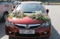 Hoa xe cưới 03