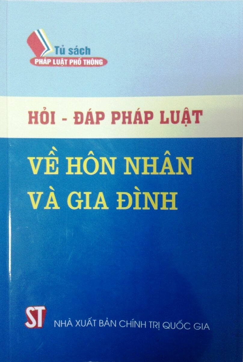 Hỏi - Đáp pháp luật về hôn nhân và gia đình - TS. Nguyễn Trung Thành