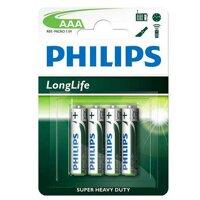 Hộp 12 vỉ pin kẽm AAA Philips R03L4B - 48 Viên AAA