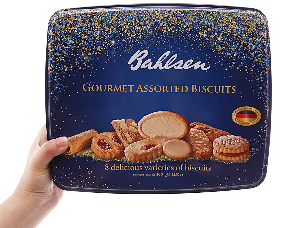 Hộp bánh Bahlsen Gourmet Assorted biscuits 400g
