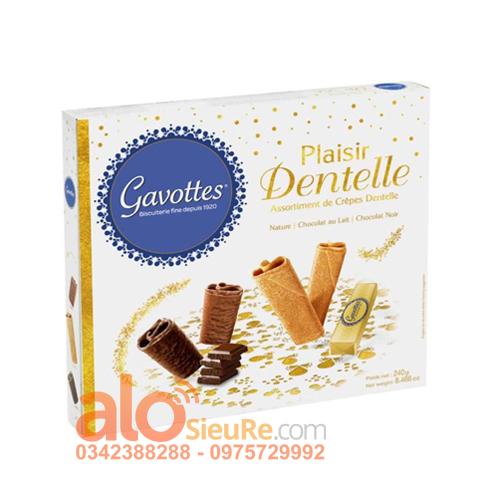 Hộp bánh Crepe Gavotte hỗn hợp – hộp 240g
