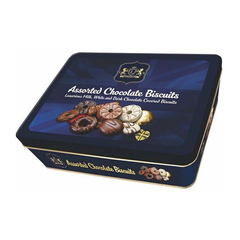 Hộp bánh Luxury Assorted Chocolate Biscuits 450g