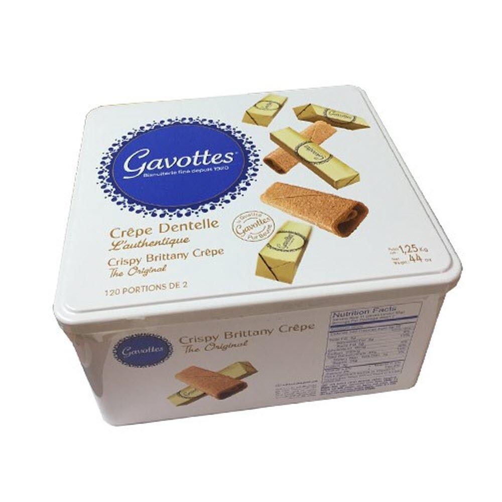 Hộp bánh Pháp Gavottes Grêpe Dentelle 500g