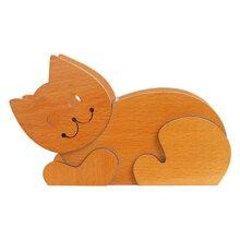 Hộp cắm bút gỗ mèo Nhatvywood HV-03