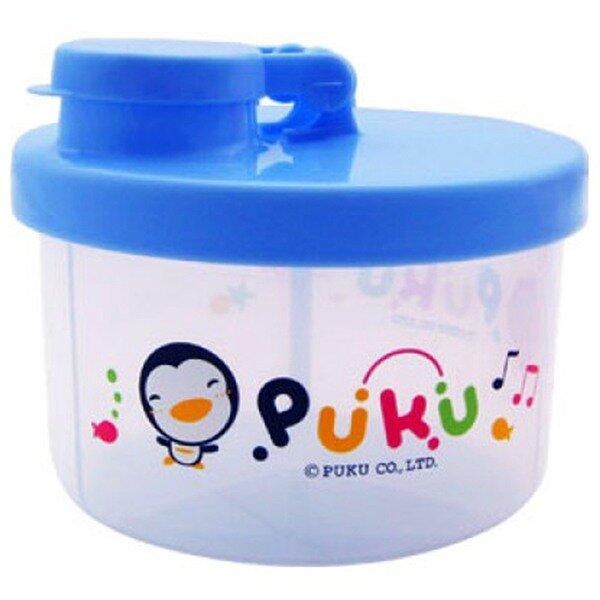 Hộp chia sữa 3 ngăn màu xanh Puku 11011 (Mã SP: 062712)