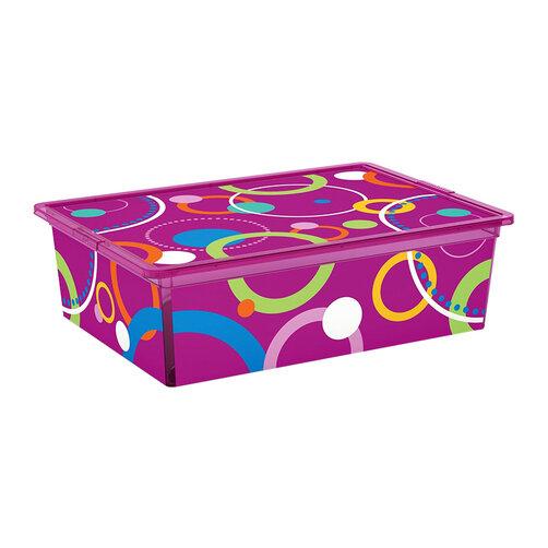 Hộp chứa đồ Kis C-Box Style Bubbles L