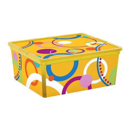 Hộp chứa đồ Kis C-Box Style Bubbles M