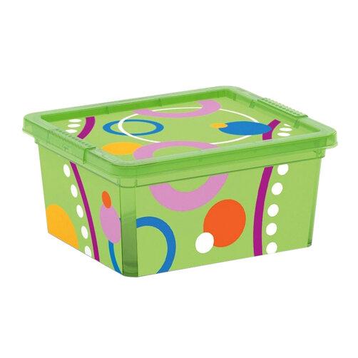 Hộp chứa đồ Kis C-Box Style Bubbles XXS