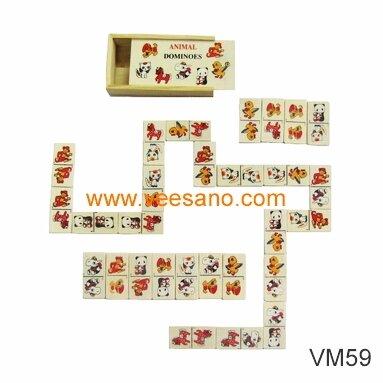 Hộp domino con vật Veesano VM58