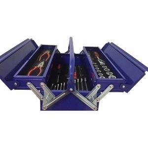 Hộp dụng cụ 3 ngăn 56 chi tiết Kocu KC-07